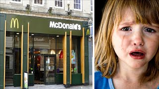 A Girl Rushed Out Of McDonald's Bathroom Crying, Then Her Mom Saw Something Wrong On Her Legs