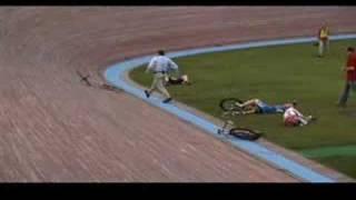 Bike crash at Minnesota Fixed Gear Classic
