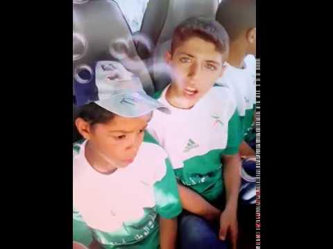 رحلة ابطال مدينة السمارة اثناء تصفيات الجهة بمدينة العيون