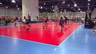 Club One 15 Gold Volleyball - Day 2 - SCVA #brooklyn #peyton #liv #ivett #tabor