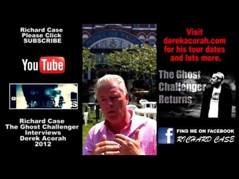 The Ghost Challenger Interviews Derek Acorah Pt 1