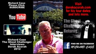 The Ghost Challenger Interviews Derek Acorah Pt 1