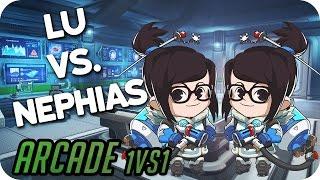 Lu vs. Nephias • Overwatch Arcade 1vs1 deutsch