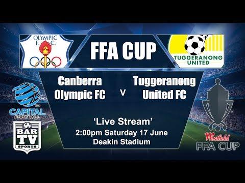 2017 FFA Cup - Canberra Olympic FC v Tuggeranong United FC