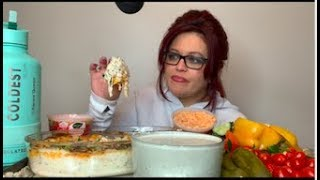 Homemade Cheesy Lobster Dip And Chips! Plus more! Mrs C!! (Story Time) 💋