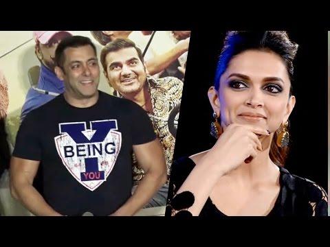 Salman Khan In Deepika Padukone's HANGOVER At Freaky Ali Trailer Launch