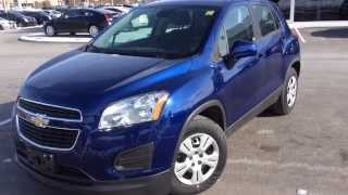 2014 Chevrolet Trax LS Review [Blue Topaz] | ST#140490