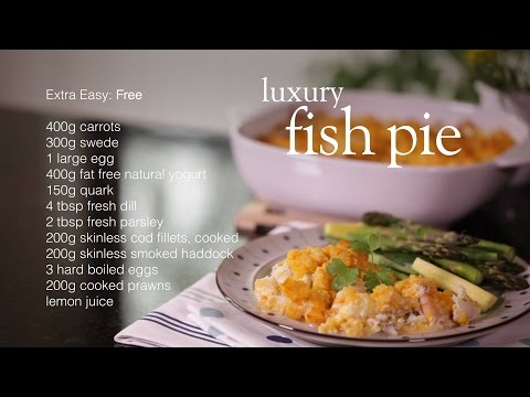 Slimming World Syn-free Luxury Fish Pie Recipe - FREE