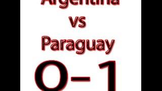 Kualifikasi Piala Dunia Argentina vs Paraguay 12/10/2016