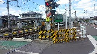 JR烏山線JR東日本EV-E301系電車 栃木県塩谷郡高根沢町 全国出張の旅