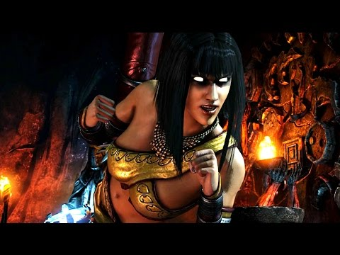 Mortal Kombat XL - Online Female Ranked Matches (Goro Salt...)