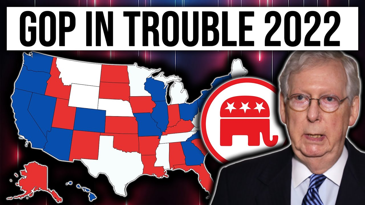 BREAKING: GOP In BIG Trouble For 2022 Senate | 2022 Midterms Analysis