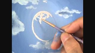 Видео 2 Часть 5 Как нарисовать пляж и горы, и лунный свет(Как нарисовать пляж и горы, и лунный свет пляж луна лунный свет горные лесные деревья вода волна отражение..., 2011-09-01T04:56:47.000Z)