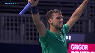 Wawrinka, Dimitrov survive; Canada's Next Gen succeed | Rogers Cup 2018 Highlights Day 2