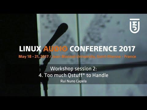 Workshop Session 2: 4. TooMuch Qstuff To Handle - Rui Nuno Capela