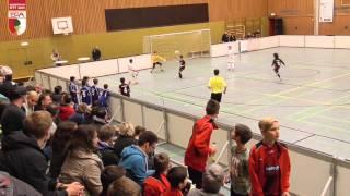 U11 FC Augsburg - Eintracht Frankfurt 3:1 SUPERCUP Aktion Fussballtag 16./17.01.2016