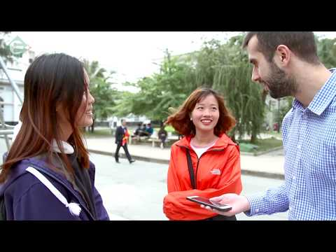 khảo sát nói tiếng Anh của Sinh viên Hà Nội