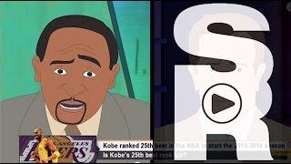 ESPN First Take Parody: Kobe Bryant Ranked 25th Best Player in NBA?? - by Sean Rohani
