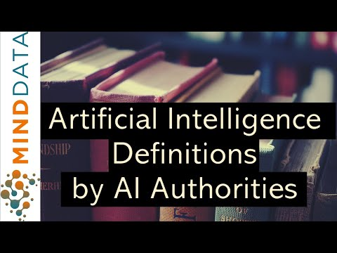 [What is AI ML DL] 🎓Artificial Intelligence(AI) Definitions from famous Researchers