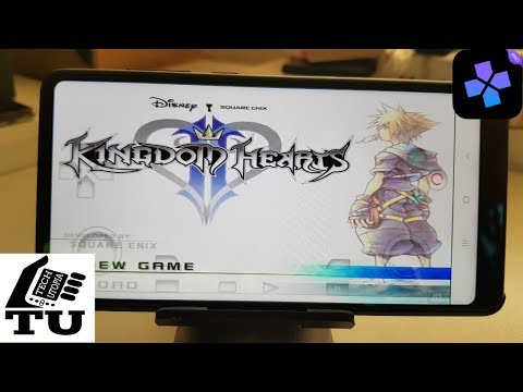 Kingdom Hearts 2 PS2 Game On Android Smartphone DamonPS2 Emulator Test/Adreno 540