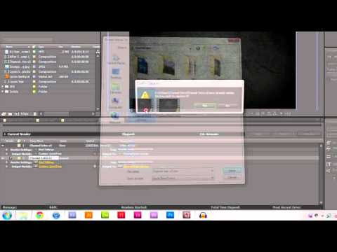 Rendering Videos in Adobe After Effects, Premiere Pro and Media Encoder [CS3 - CS5]