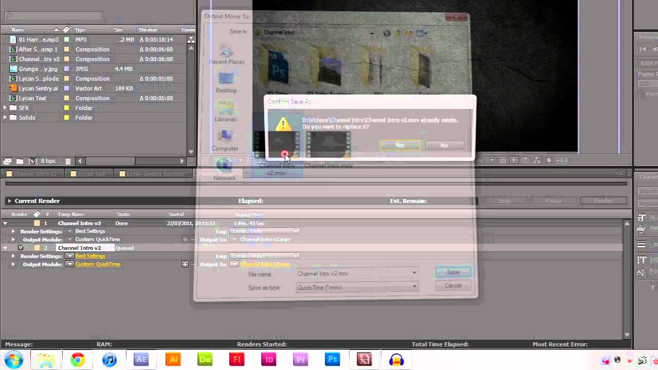 Rendering videos in adobe after effects premiere pro and media rendering videos in adobe after effects premiere pro and media encoder cs3 cs5 ccuart Gallery