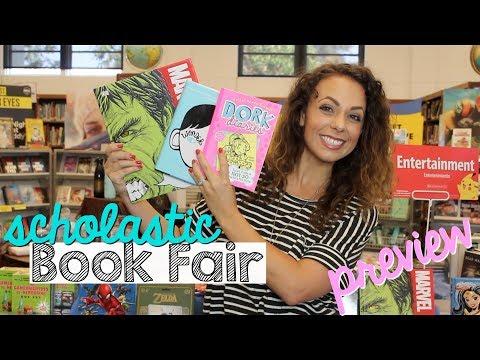 2017 scholastic book fair preview!