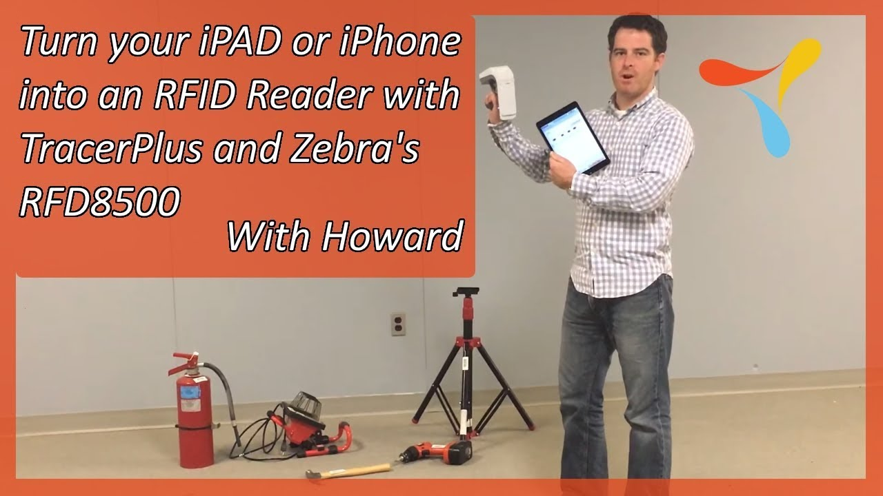 Turn your iPAD or iPhone into an RFID Reader with TracerPlus and Zebra's  RFD8500
