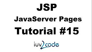 JSP Tutorial #15 - JSP Built-In Server Objects