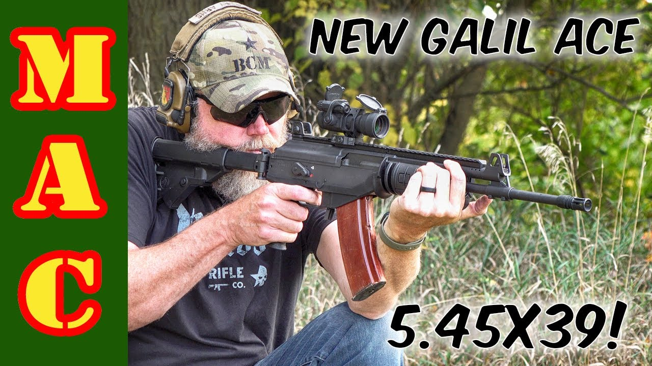 NEW IWI Galil ACE in 5.45x39! The Israeli Krinkov!