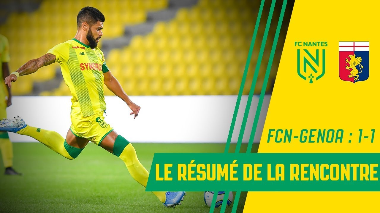 Superbe rencontre avec le FC Nantes!