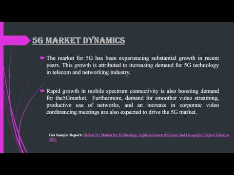 Global 5G Market Report