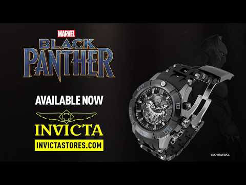 Black Panther Invicta Watch is here!