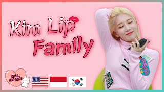 Download I want to be a mole...😹😹😹 LOONA Kim Lip's IDOL FAMILY [ENG/INDO]