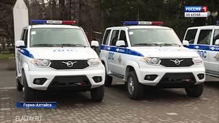 Полицейские республики получили новые автомобили