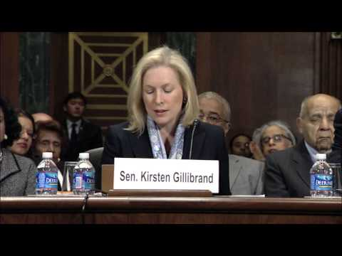 Gillibrand Introduces Analisa Torres as Nominee to US District Court
