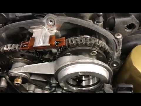 Timing Marks & Timing Chain Stretch - 2012 Audi A4 2.0T - YouTube   Audi A4 Engine Timing Change Diagram      YouTube