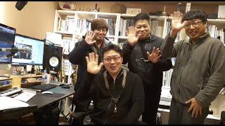 블루윈드 색소폰퀄텟 녹음 실황 Live방송 - 눈이내리…