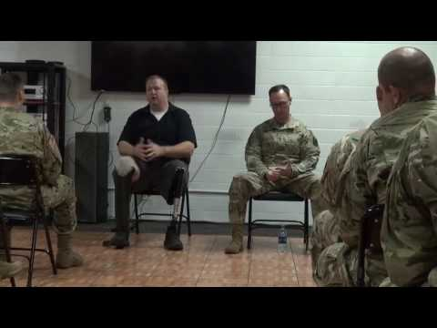 Resiliency Training with the 717th Military Intelligence Battallion