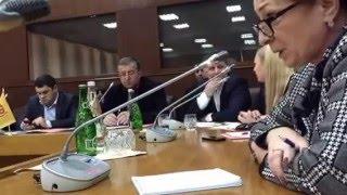 Круглый стол «Многонациональный Дагестан – многонациональная Россия». Махачкала, 8 декабря 2015 года