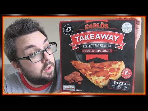 Aldi Carlos Takeaway Pepperoni Pizza Review Youtube