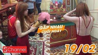 Ngán ngẩm các thiếu nữ mặc thiếu vải đi chùa đầu năm! | GNCN 19/02