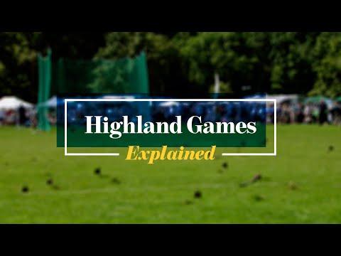 Scottish Highland Games:  Explained