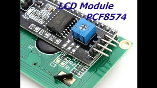 Serial LCD - I2C Backpack