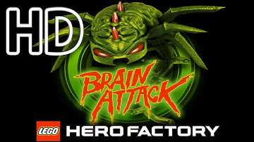 Lego Hero Factory Brain Attack Full HD