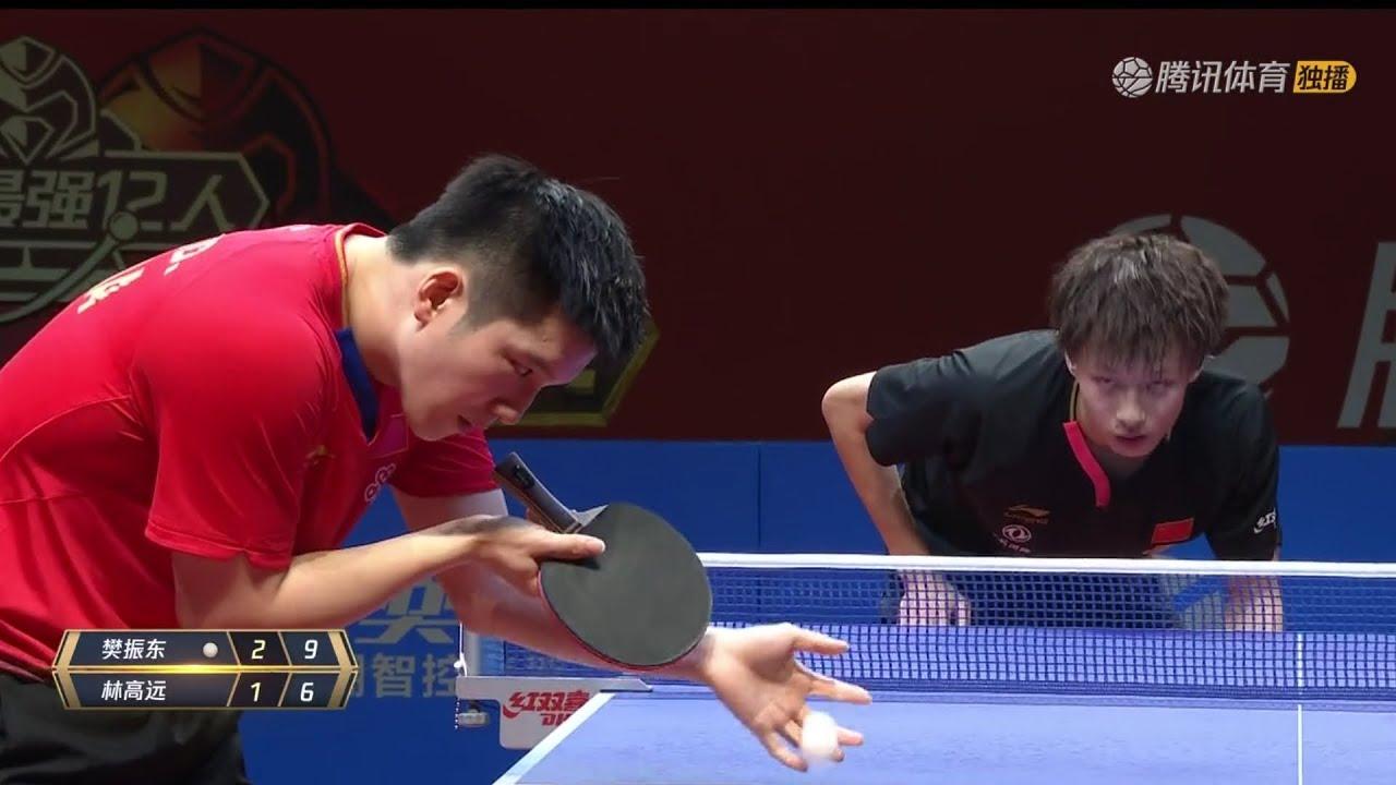 Download FULL MATCH   Fan Zhendong vs Lin Gaoyuan   2020 Marvellous 12