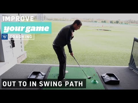 Out to In Swing Path - Golf Lessons with Topgolf