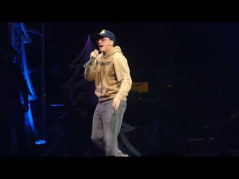 """1-800-273-8255"" Logic@Wells Fargo Center Philadelphia 12/6/17 Jingle Ball"