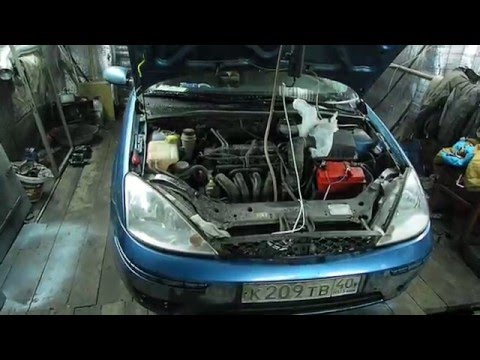 Устранение подсосов воздуха Ford Focus