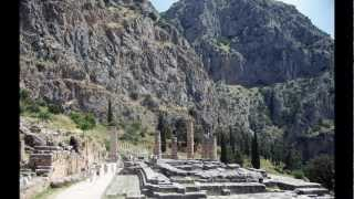 Tourist Attractions in Delphi Mount Parnassus Greece